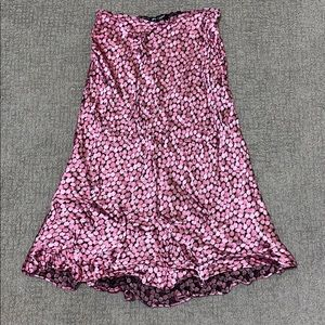 Betsy Johnson vintage midi floral skirt size large